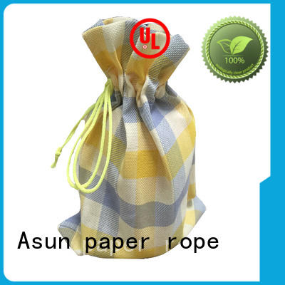 Asun paper rope paper bag clothing manufacturer for garment accessories
