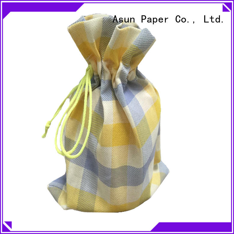 Asun paper rope paper bag clothing manufacturer for casement cloth