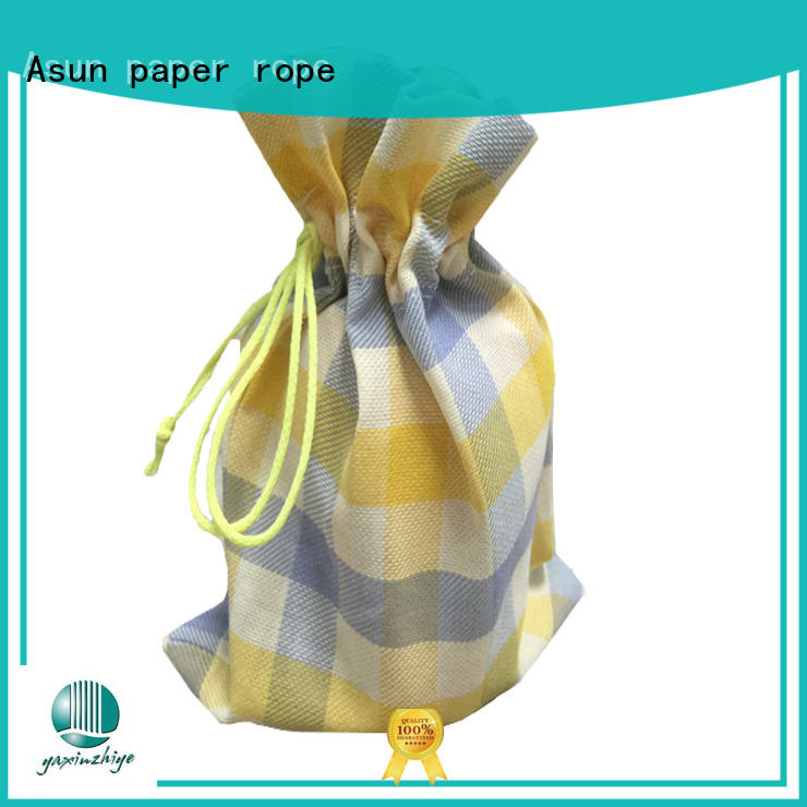 paper cloth carry bags customized comfortable Asun paper rope Brand paper bag clothing