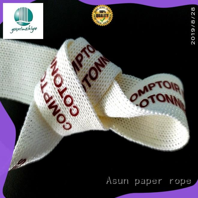 Asun paper rope paper ribbon series for bags