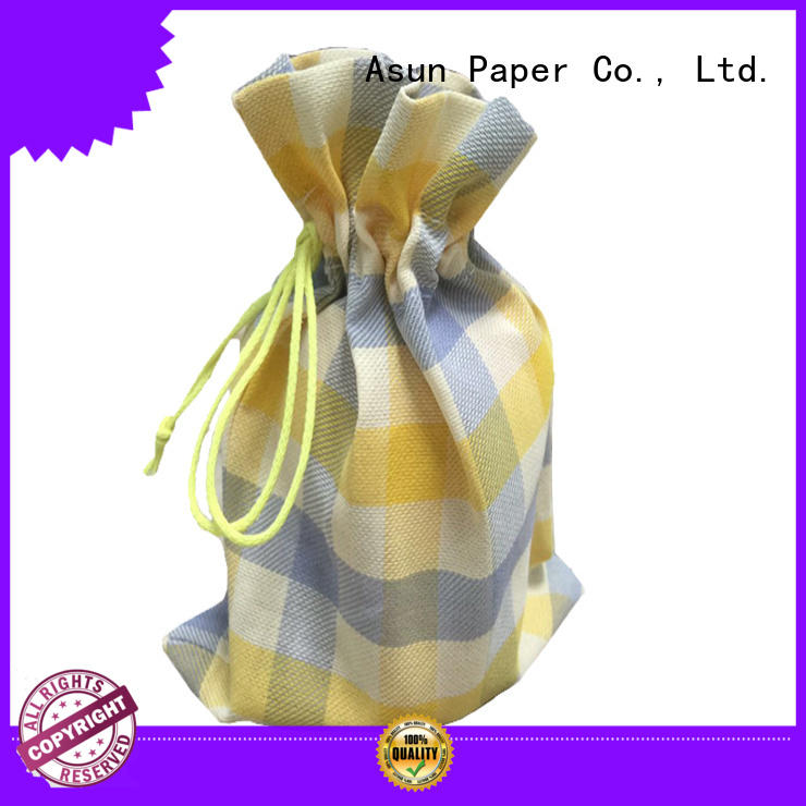 black brown paper bag clothing shirts socks Asun paper rope