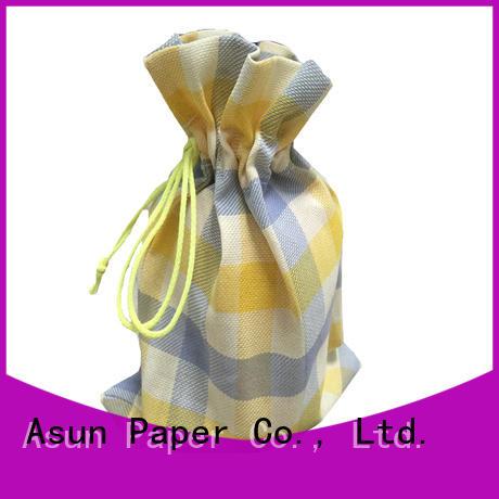 black paper cloth bag series for socks