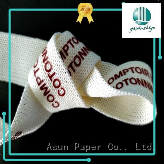 Asun paper rope paper ribbon roll directly sale for bags