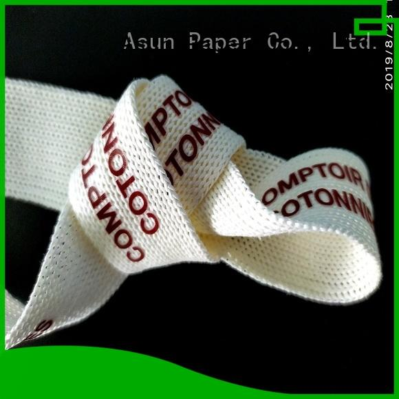 Asun paper rope environmental paper ribbon roll directly sale for paper handles